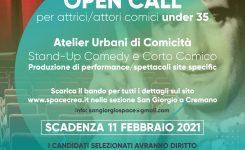 Open call per attrici e attori comici under 35
